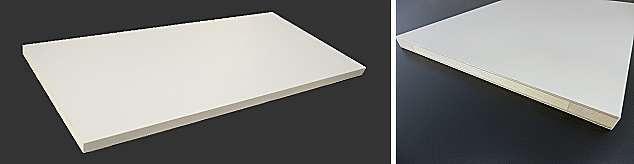 棚板仕切り板の販売 白ホワイト棚