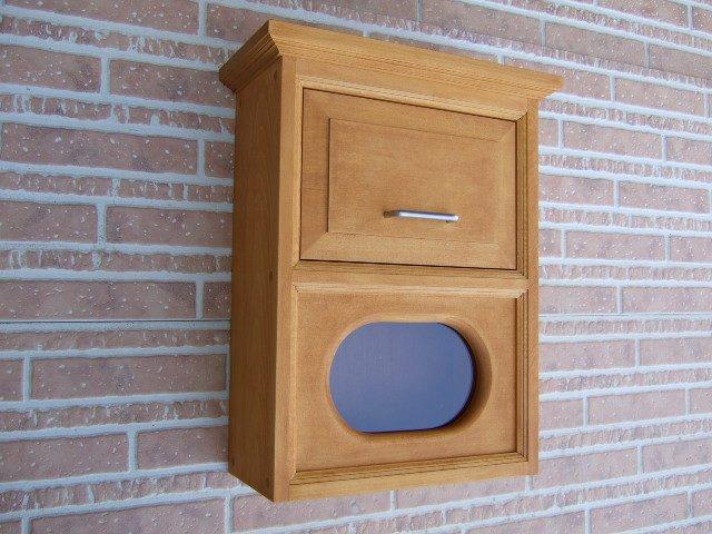 木製ポスト 郵便受け 手作りポスト