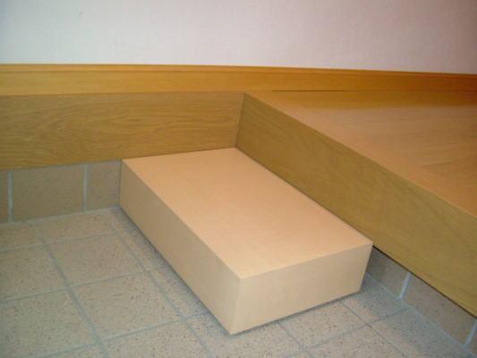 踏み台 木製 介助用品
