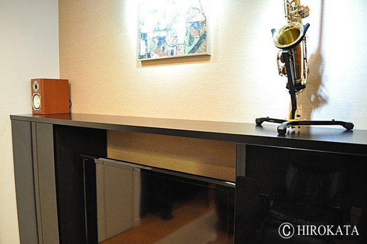 壁飾り棚カウンター用のメラミン化粧板天板