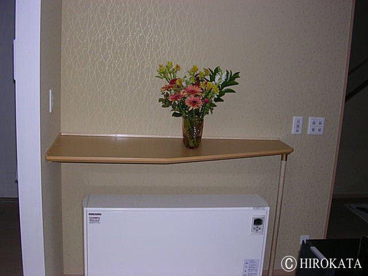 蓄熱暖房機上部取り付け用カウンター天板