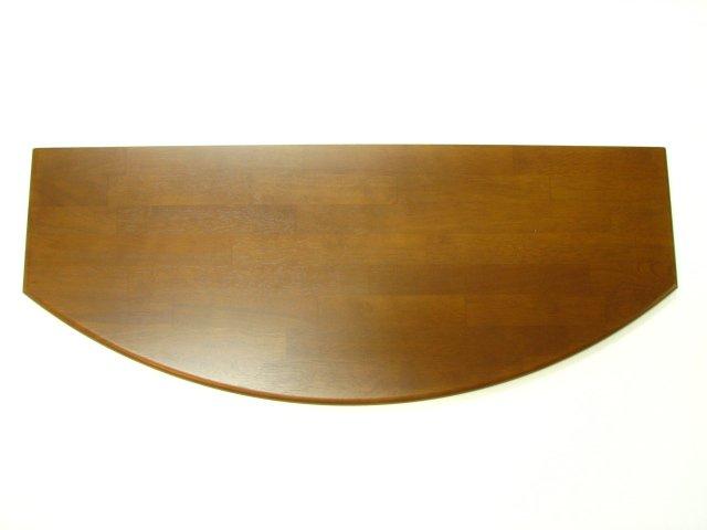 飾り棚用集成材カウンター平面形状