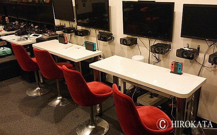 ゲームPC用デスクカウンターテーブル