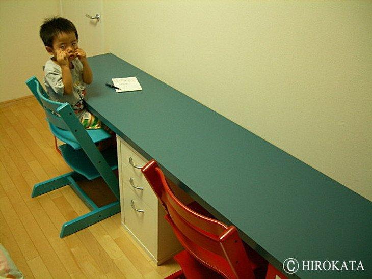 子供用学習机の天板サイズオーダー