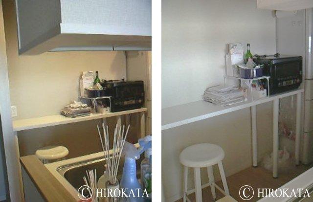 キッチン作業テーブルカウンター