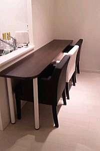 ヌックカウンターテーブル