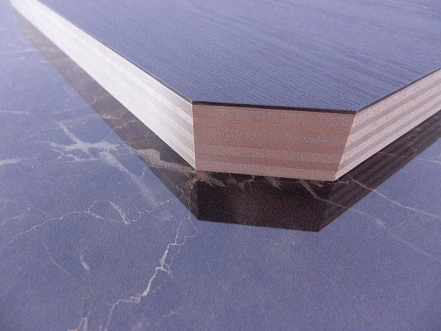 積層シナ共芯合板無塗装隅切り形状