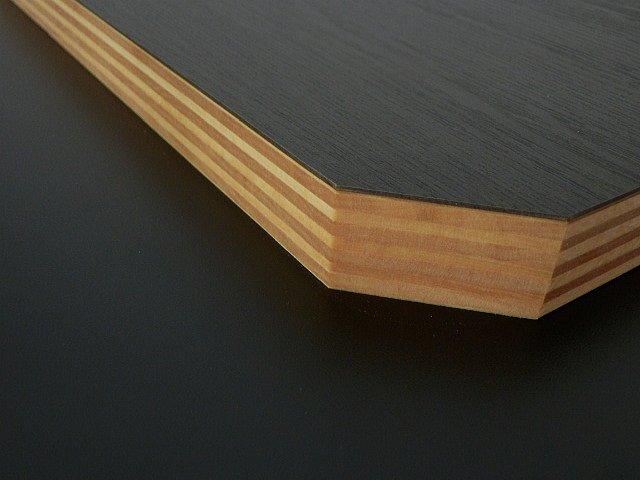 積層シナ共芯合板無塗装隅切り斜めCカット形状