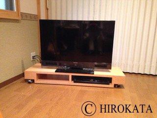 低床テレビ台