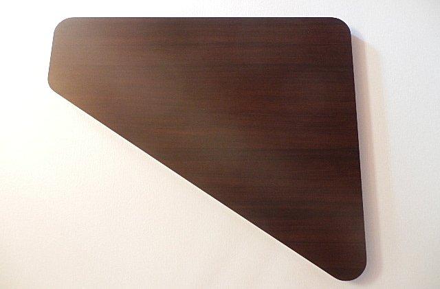 三角形の天板 アイカメラミン化粧板で製作