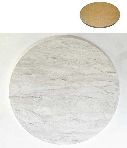 アイカメラミン化粧板で作る円形天板