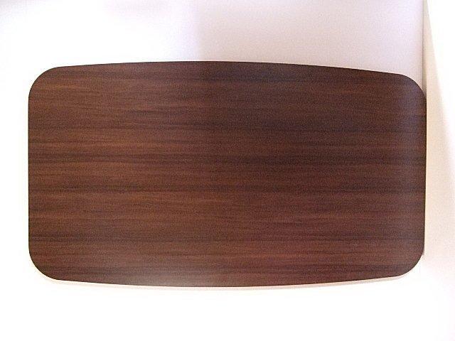 楕円変形のカウンターテーブル天板