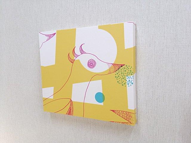 アイカメラミン化粧板貼りのアート壁飾り