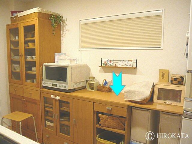 キッチン収納やカラーボックスに載せるリメイク机用天板