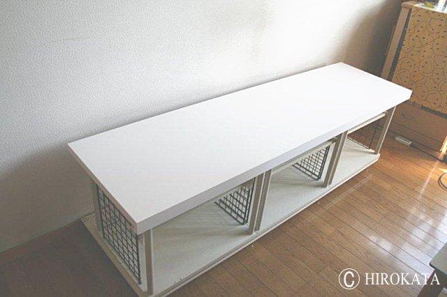 カラーボックスカウンターの作り方に最適な天板
