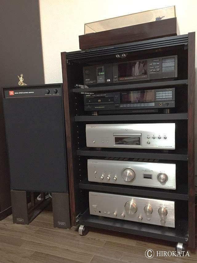 レコードプレーヤーやアンプ収納のオーディオラック用増設棚板オーダー