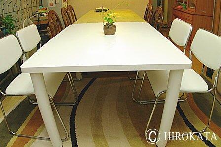 ダイニングテーブル延長用予備テーブル