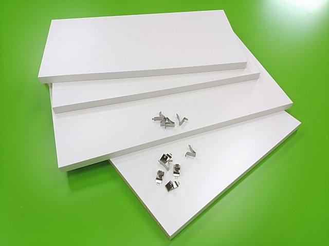 食器棚の板の段数を増やす時の増設用棚板