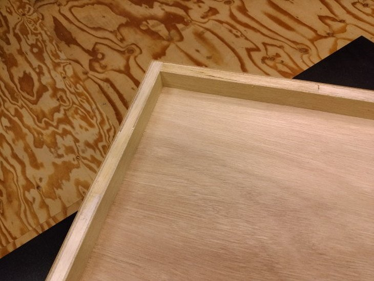 作業台天板取り換え用きれいな素材のメラミン天板