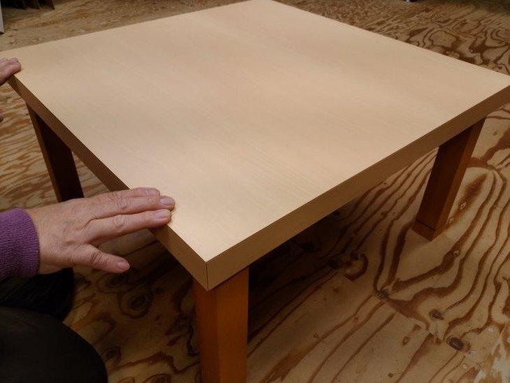 デスク天板リメイク用堅固で頑丈な素材のメラミン天板