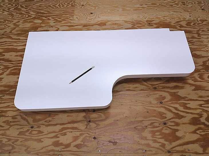 壁取り付け型カウンターテーブル天板