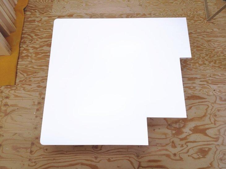 メラミン化粧板のカット加工の制限