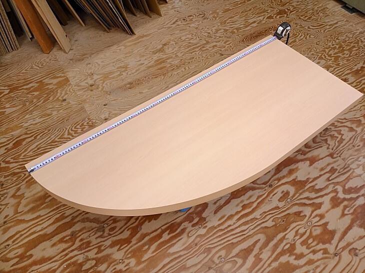 壁取り付け型ダイニングテーブル天板
