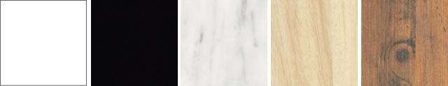 テーブル天板メラミンの色柄サンプル