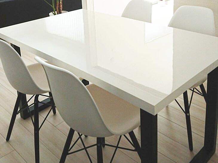 メラミン化粧板販売(アイカメラミン化粧板仕上げの天板加工通販)テーブル天板加工