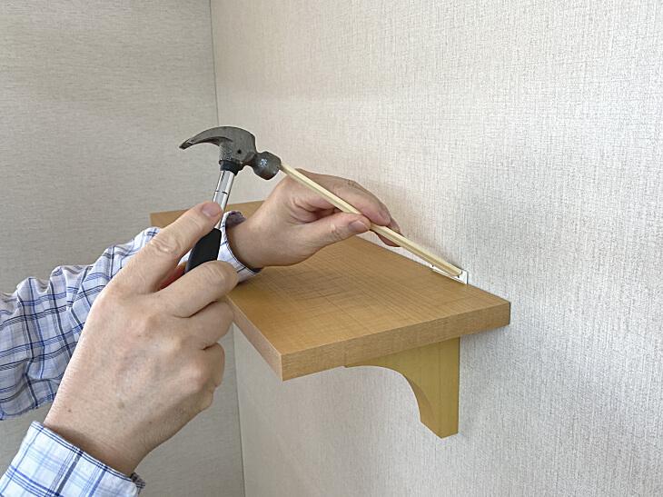 割り箸を使用しての 取り付け方法