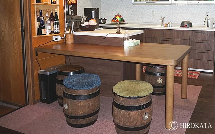 木製テーブル脚