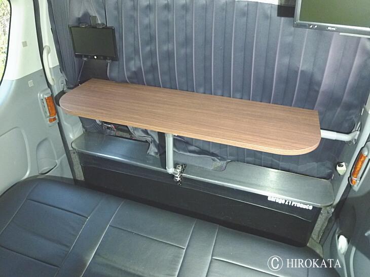 車載用テーブル天板