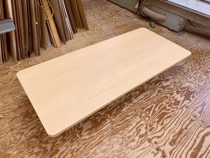 台の上に置く板(メラミン天板)