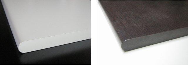 天板の側面形状