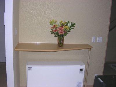 壁付け飾り棚