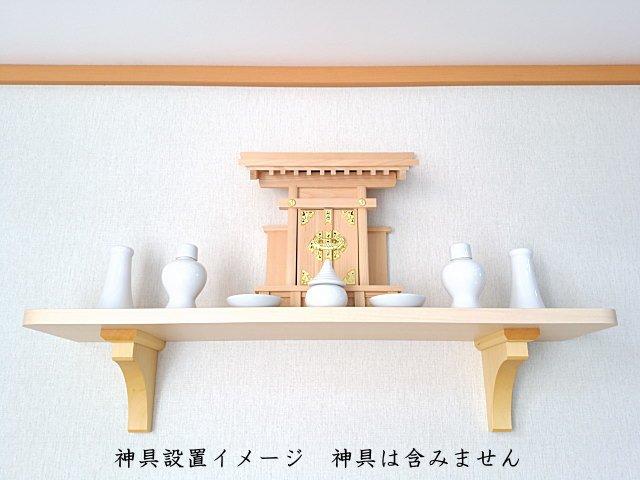 設置が簡単な神棚の棚板