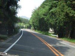 国道33号線 三坂峠の山頂です。