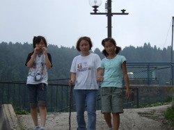 西日本最高峰の石鎚山に途中まで登る