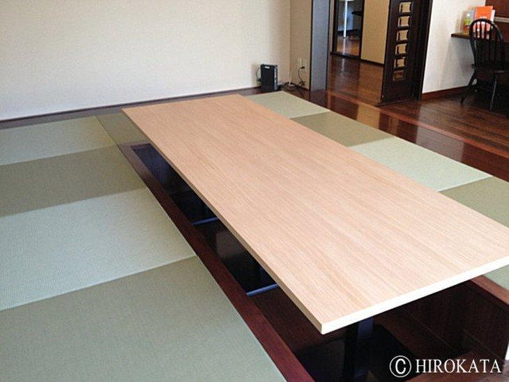 大きいローテーブル