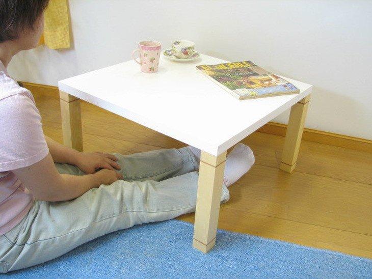 おしゃれなローテーブル小さめサイズ