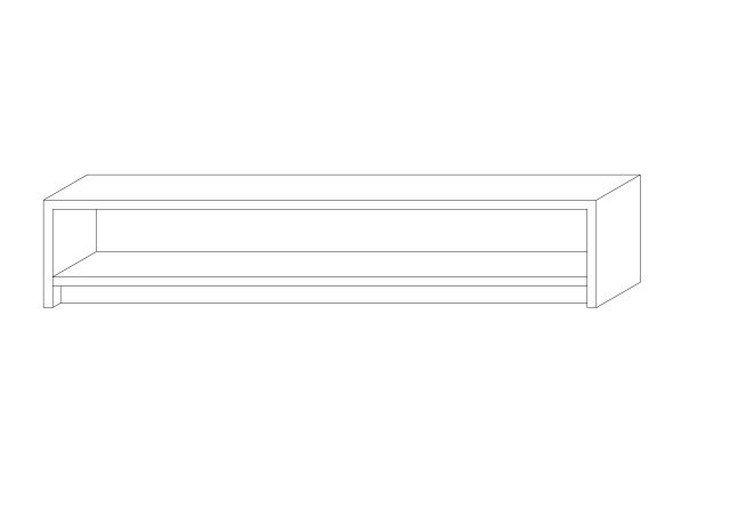 メラミン化粧板デスク天板イラスト