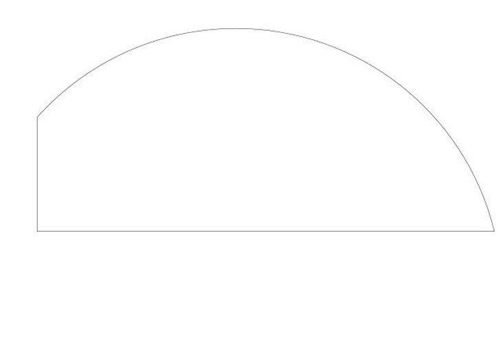 メラミン化粧板テーブル天板変形曲線