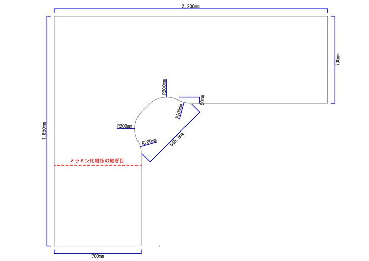 トレーディングPCデスク図面2