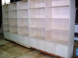 店舗什器 店舗家具 収納 壁面什器